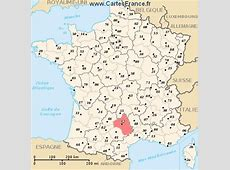 AVEYRON map, cities and data of the departement of