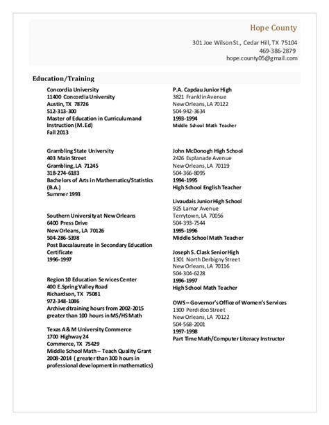 chronological resume purdue owl professional reference resume
