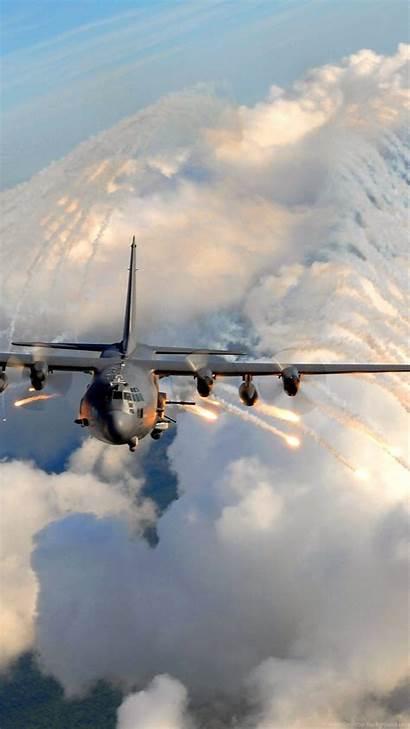 Ac Gunship 130 Air Force Ground Support