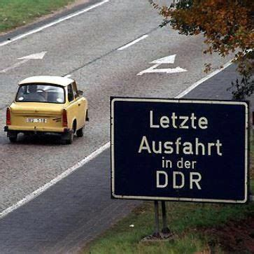 east germany gdr   famous trabant car sign