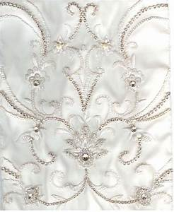 wedding dress fabric decorative touches With wedding dress fabric