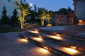 steps clc landscape design With outdoor lighting for stone steps
