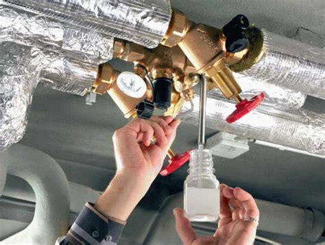 probenahme trinkwasser legionellen probenahme trinkwasserinstallationen shkwissen haustechnikdialog