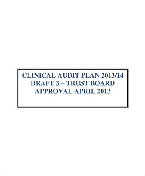 audit plan templates   word  format