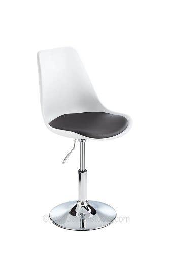 tulip swivel chair white black the uk furniture store