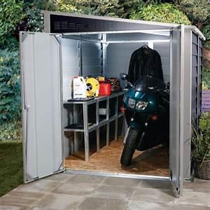 Abri Moto Bois : garage motos en m tal anthracite 4 69m titan 950 trimetals ~ Melissatoandfro.com Idées de Décoration