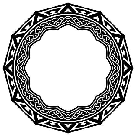 Celtic Knot Circle Stock Photos And Imag #890650 - PNG ...
