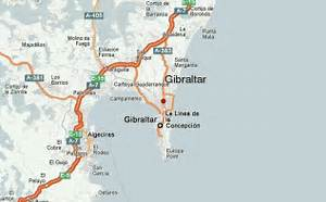 Other places close to Gibraltar: Gibraltar