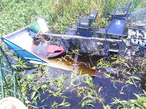 airboat crash lake air accident insurance accidents county club wreck