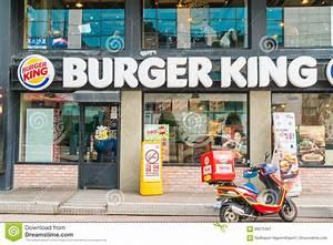 Seoul , South Korea - Mar 8, 2016 : Burger King Hamburger ...