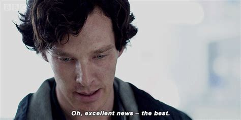 Benedict Cumberbatch Oh Excellent News The Best Gif By Bbc