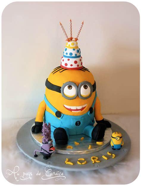 Gâteau Minion Au pays de Candice