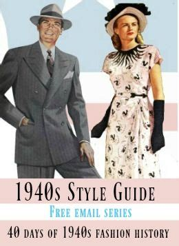 style guide  days   fashion history
