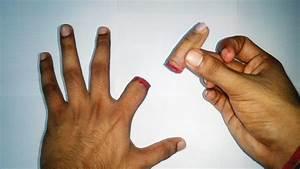 Cutting Finger Magic Trick