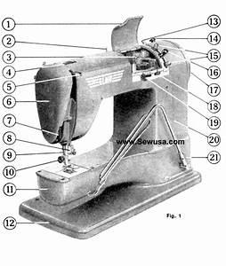 Elna Supermatic Instruction Manual
