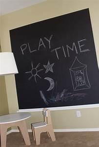 Chalkboard paint in kids rooms