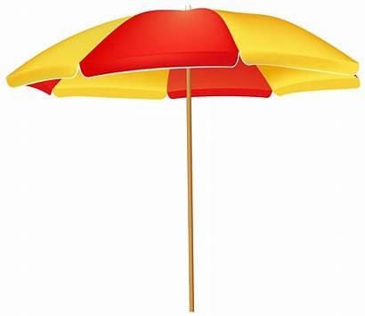 Umbrella Beach Clip Transparent Clipart Cartoon Silhouette