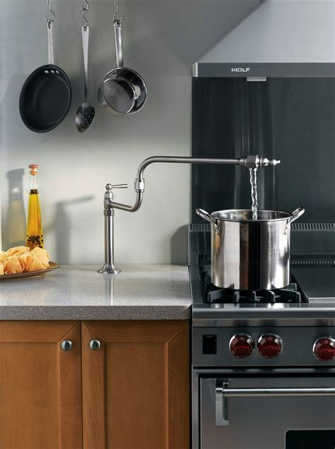 pot filler tap weizter kitchens weizter kitchens