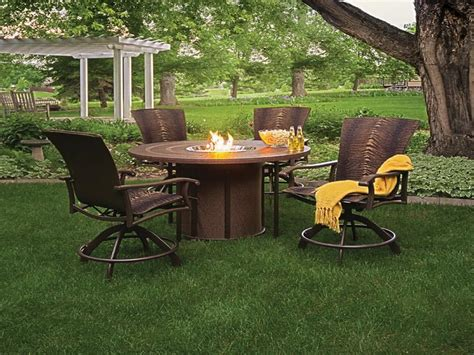 propane pit sets with chairs pit design ideas