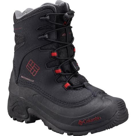 columbia bugaboot  iii omni heat boot boys backcountrycom