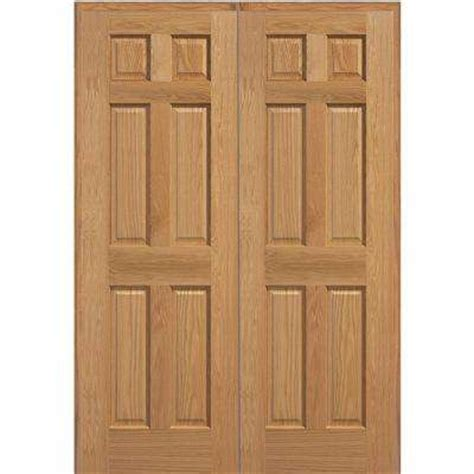 oak interior doors home depot 6 panel doors interior closet doors the