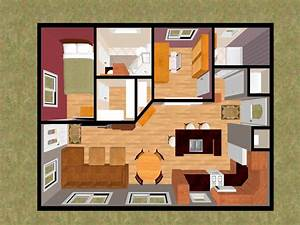 Simple small house floor plans small house floor plans 2 for Floor plans for small houses with 2 bedrooms
