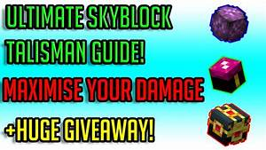 Hypixel Skyblock Early  Mid  Late Game Talisman Guide   200