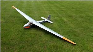 Final Model Of The Slingsby Swallow T 45 Glider With