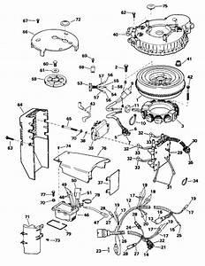 Evinrude Ignition System Parts For 1995 115hp E115gleoc