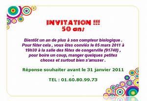 Texte Anniversaire Surprise Texte Pour Invitation