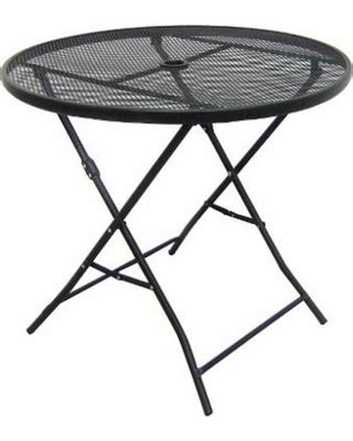 metal mesh top patio table check out these summer savings patio folding table