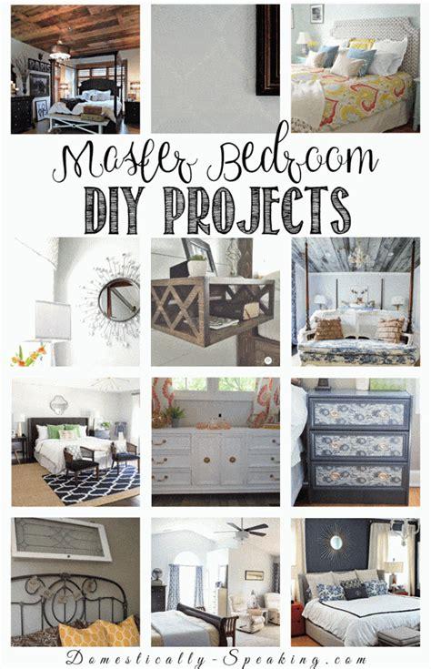 diy room decor ideas   master bedroom domestically