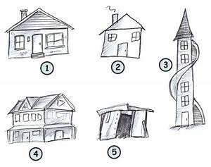 Drawing cartoon houses