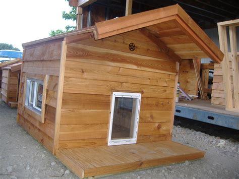 custom ac heated insulated dog house extra large ac dog house insulated dog house dog houses