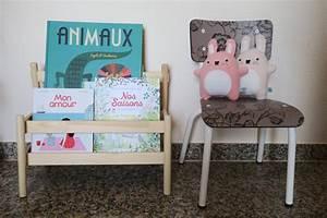 Presentoir Livre Ikea : son coin lecture et le pr sentoir livres flisat de chez ikea let 39 z be a mum ~ Teatrodelosmanantiales.com Idées de Décoration