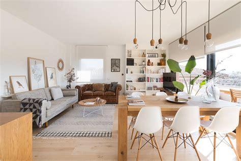 deco chaleureuse dans  appartement moderne blueberry home