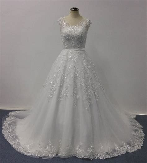 bellissima wedding dresses  ball gown sheer  neck cap