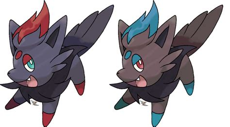 Zorua V.2 By Xous54 On Deviantart