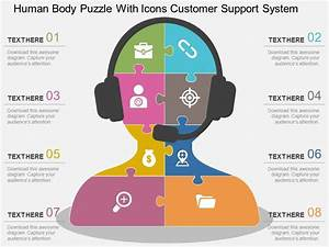 87801871 Style Puzzles Matrix 8 Piece Powerpoint