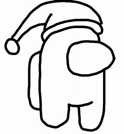 Among Coloring Pages Printable Santa Claus Christmas