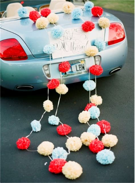 just married car decorations ideas for my future wedding day pint
