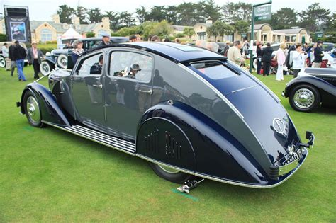 pebble beach winning voisin aerodyne visits jay lenos