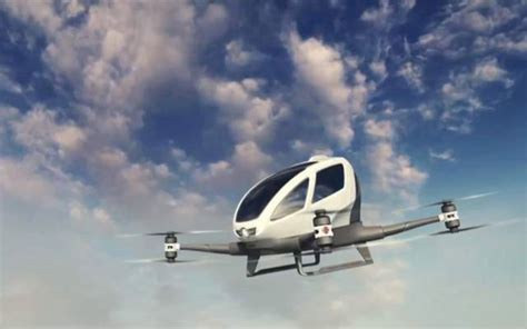 Airbus Planning App Based Uber like Flying Taxi Service