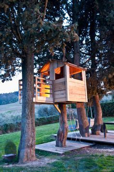 simple treehouse hope grandma     grandkids   tree house
