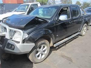 Nissan Navara V6 : nissan navara d40 vsk v9x v6 diesel auto black 2012 wrecking ~ Melissatoandfro.com Idées de Décoration