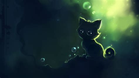 Wallpapers Anime - anime cat desktop wallpaper pixelstalk net