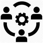 Working Team Icon Icons Business Job Noun