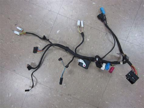 bmw oem e82 e88 e92 e93 left driver side seat wire harness plugs loom oem