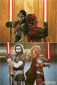 Side by cosplay of Darth Nihl and Darth Talon by ...
