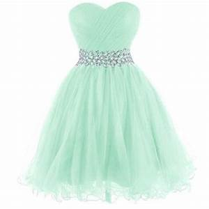 2016 Mint Home ing Dress beaded Tulle Prom dress
